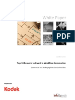 Top 10 Reasons to Invest in Workflow Automation Whitepaper