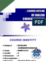 English Corespondence