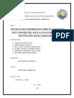 Informe Grupal Agua