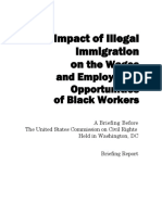 Opportunities of Black Workers A Briefing Before The United States Commission on Civil Rights Held in Washington, DC