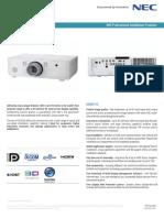 Datasheet NEC PA572WG