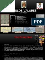 Titulos Valores Para Curso Especializado 18