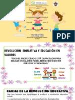 Revolución Educativa y Educación en Valores