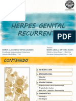 Gs Herpes Genital Recurrente - Ma Alejandra Yepez Final