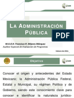 Exposicion Admon y Ley Org