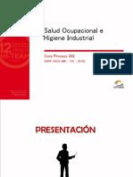 Cp302 - Salud Ocupacional e Higiene Industrial