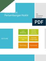 Studi Kasus Pertambangan Nuklir