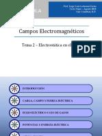 Electrostática en El Vacío (2016)