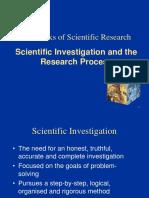 Slide#3 (Scientific Investigationa Dn Research Process)