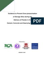 Silo Over-Pressurization Prevention Guide