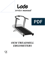 Service manual OEM treadmill ergometers V2.03