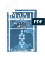 Maat - As 11 Leis de Deus