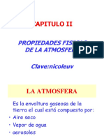 propiedades físicas de la atmósfera