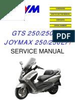 LM25 EFI Service Manual