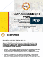 1. CDP Assessment Tool