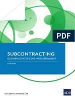 Adb Sub-contracting System