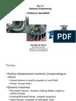 CE 111 - 02b Hydraulic Machinery-Pumps
