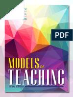 Models of Teaching-9 Th Ed- Prom