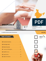 Insurance Report IBEF July 2018