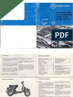 Vespa - Manuale D'Uso E Manutenzione Px125-150-200-E