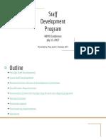 6 Staff Development Program