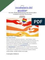 El Vocabulario Del Arcoiris
