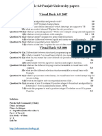 10 Year Papers Visual Basic 6.0 SOLVED For B.A part 1