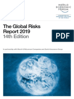 WEF Global Risks Report 2019