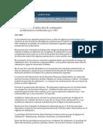 España y El Aislamineto Penintenciario