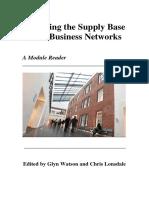 Managing the Supply Base Reader - Third Edition