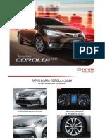 Corolla Catálogo