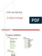 Module 4 Php and Mysql