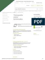 Transporte Entre Terminales - Aeropuerto Madrid-Barajas - Aena.es