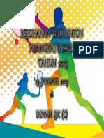 Kejohanan Badminton Peringkat Mssrd Limbang Tahun 2019