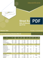 Nifty50 Q2 FY18 Quarterly Estimates