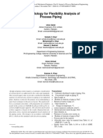 A Methodology for Flexibility Analysis of Process Piping-2017