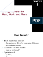 Energy Transfer by Heat, Work, and Mass