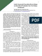 Aplikasi Metode Double Exponential Smoothing