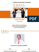 Indonesia Best Innovation Company (Erha Dermatology) - Raidha Nur Afifah