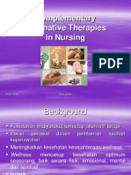 Konsep Complementary Therapy
