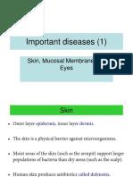 Important Diseases1 -Skin and Eye