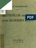 HILDEBRAND_Dasproblemderform1918