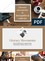 Literary Movements and Sociopolitical Contexts 2