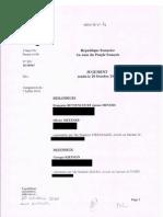 Le jugement intégral du procès Kiejman-Metzner