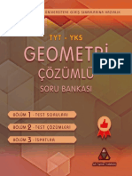 YKS-TYT-AYT Geometri Çözümlü Soru Bankası