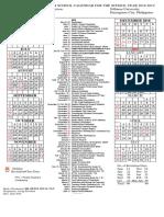 Junior High Schedule 2018_2019