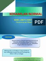 Kehamilan Normal Ppt