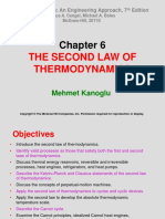 Chapter 6 THE SECOND LAW OF THERMODYNAMICS5704685.ppt
