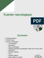 Examen Neurologique