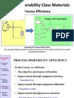 Operability Efficiency 2008